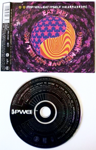 Pop Will Eat Itself - Karmadrome (CD Single) (EX/EX)